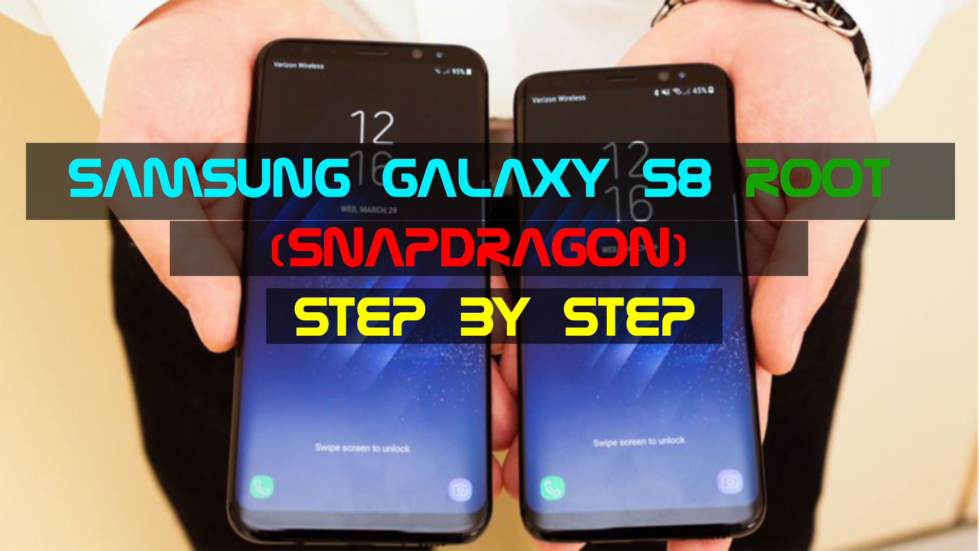 Samsung Galaxy S8 Root (Snapdragon) Step by Step | Droid-Developers